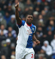 yakubu blackburn scores celebrate