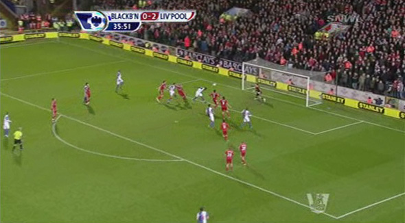 andy carroll blackburn goal
