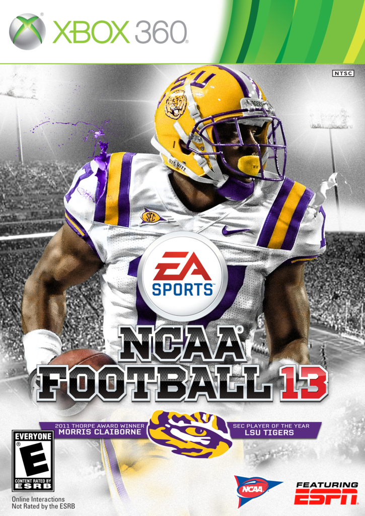 LSU NCAA 13 covers (Honey Badger galore) - And The Valley ...