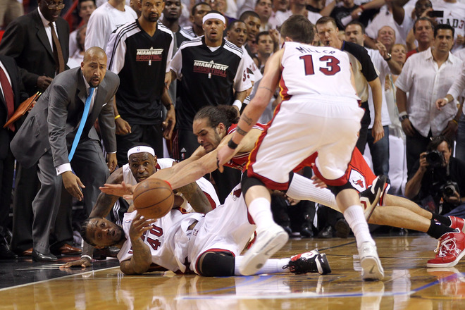 Miami Heat beat the Chicago Bulls