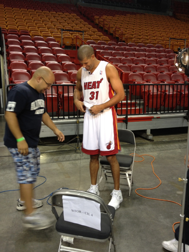 Shane Battier Miami Heat Media Day