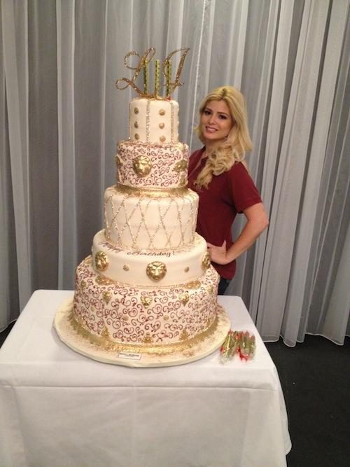 Divine Delicacies LeBron Cake