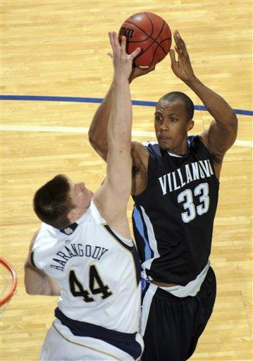 Villanova Notre Dame Basketball