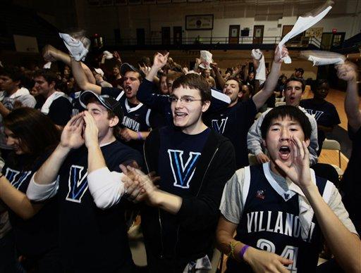 NCAA Final Four Villanova Basketball