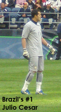 Julio Cesar in Seattle