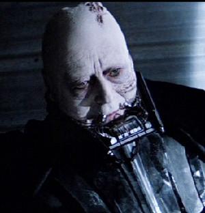 Darth Vader with no mask