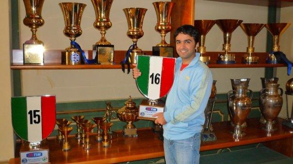 Mohi with Inter\'s 16th Scudetto