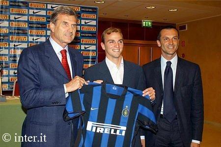 The start of an Inter Legend