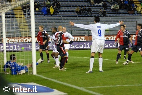Cruz helps take full points against Cagliari