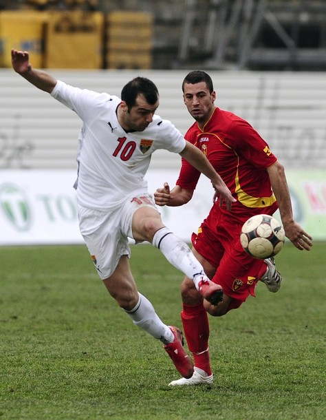 Pandev for Macedonia against Montenegro