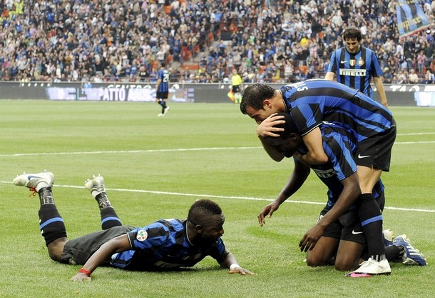 Mariga's first Inter goal