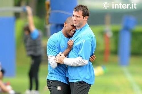 Hugs for Stankovic