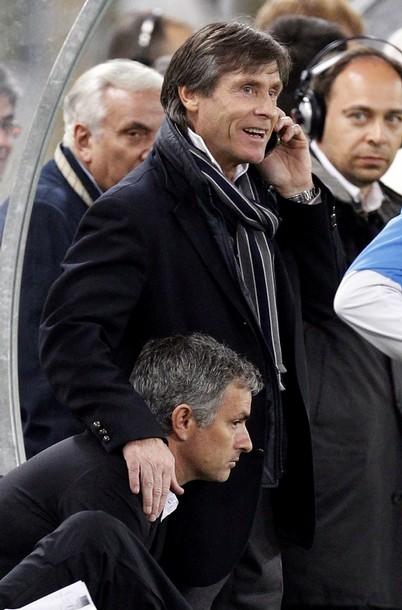 Oriali and Mourinho Lazio
