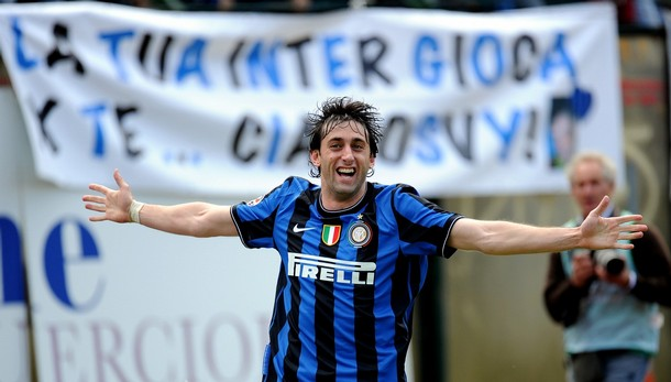 Grazie Milito - we all cried with you today!