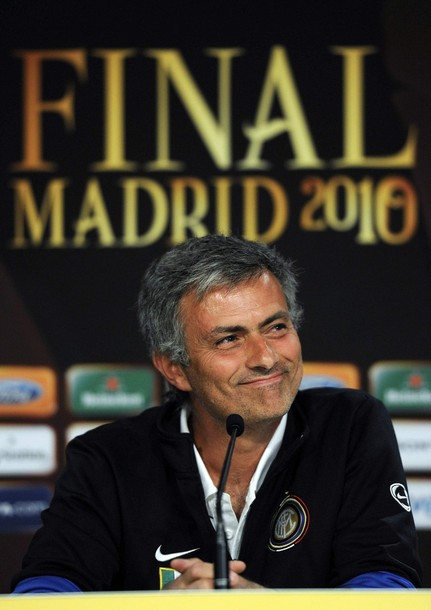 Jose Mourinho pre Champions League final