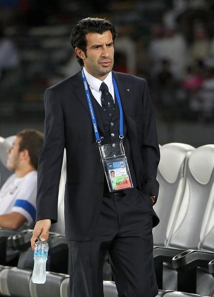 Figo at the Club World Cup