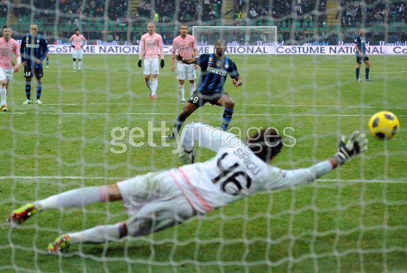 Etoo converts against Palermo