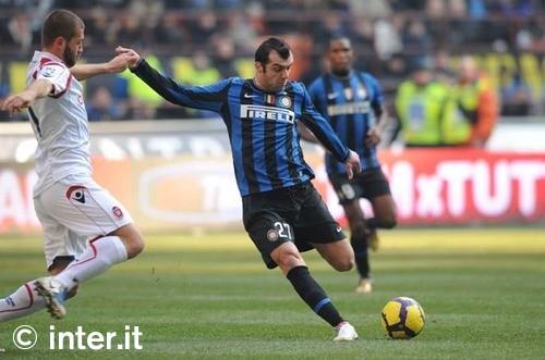 Pandev against Cagliari