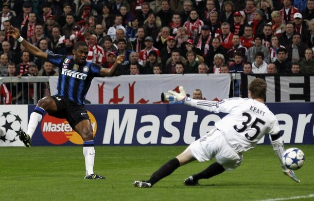...And there's no stopping Eto'o either!