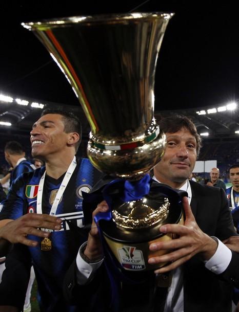 Leo with the Coppa