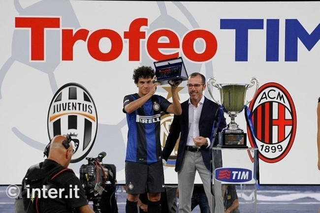Coutinho best Trofeo TIM player