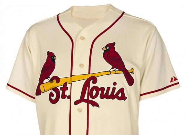 8dafe823a9b8 The St. Louis Cardinals Unveil Fauxback Jerseys