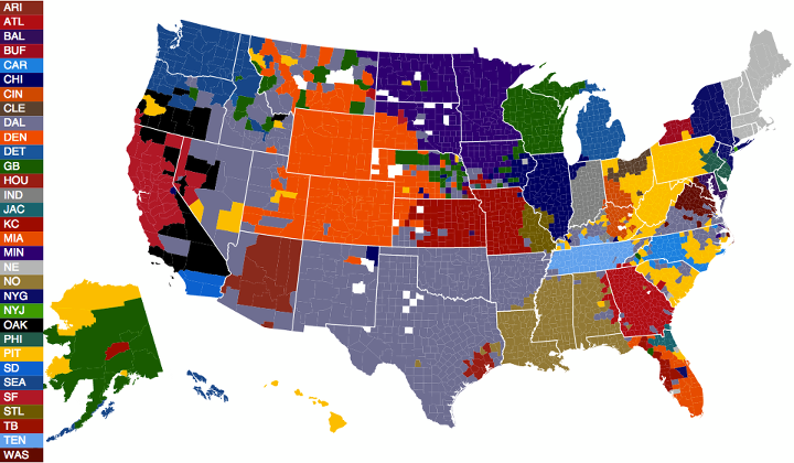 24 maps that explain the NFL - SBNation.com