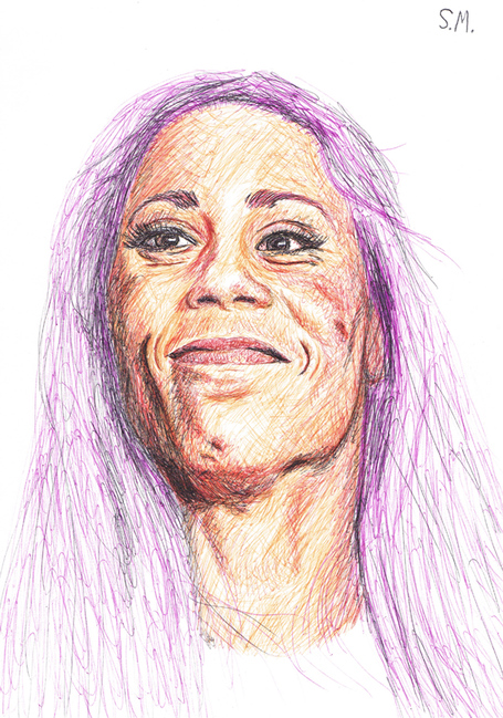 Liz_carmouche_drawing_2__by_sallydoesarts-d5wdftn_medium
