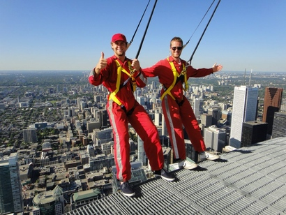 Nick Spaling Matt Halischuk CN Tower