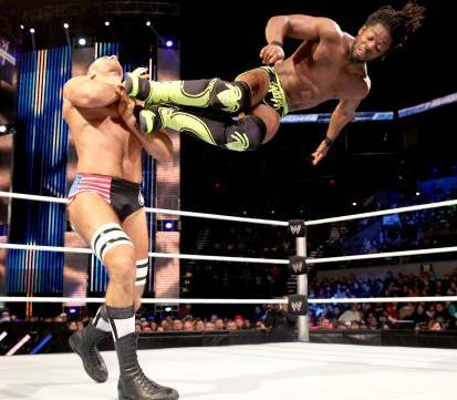 Wwe-kofi-kingston-attacks-on-antonio-cesaro-with-kick_medium