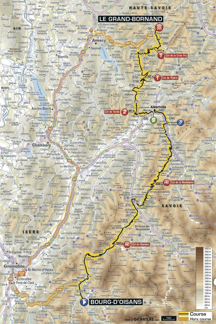 tour de france 2013  stage 19  route  tv schedule and more
