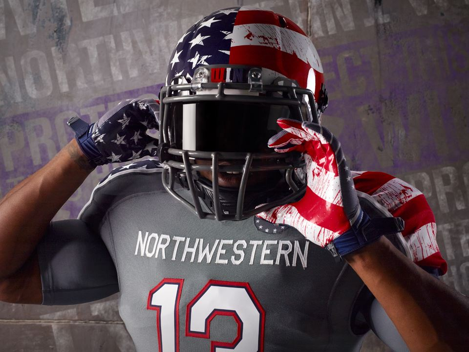 Northwestern Releases Star Spangled And Not Bloody Wounded Warrior