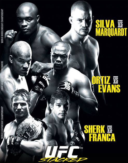 ufc 73 fight card