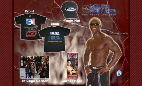 Melvin Guillard ufc gear on Ebay