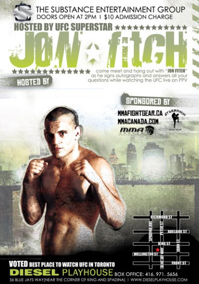Jon Fitch party