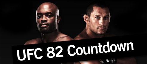 UFC 82 Countdown