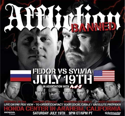 affliction banned fight card