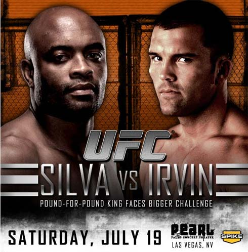 anderson silva james irvin ufc fight night 14