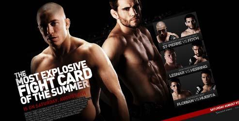 UFC 87 web site