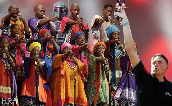 BRITAIN-ENTERTAINMENT-MUSIC-SAFRICA-AIDS-PEOPLE,