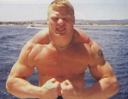 Young Brock Lesnar This is what brock lesnar