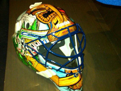 Roberto Luongo S New Mask Honors Native Culture Awesomeness