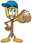 22662-clip-art-graphic-of-a-straw-broom-cartoon-character-catching-a-baseball-with-a-glove-by-toons4biz_medium