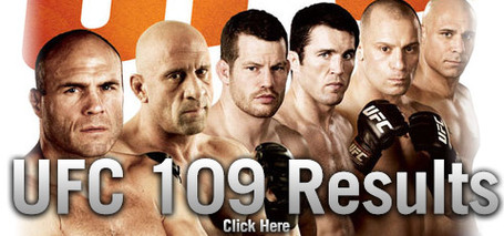 UFC 109 Results