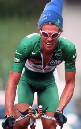 What Would Mario Cipollini Look Like Wearing A Blue Hat