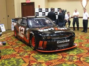 Justin Allgaier's No. 12 Dodge