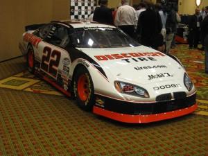 Brad Keselowski's No. 22 Dodge