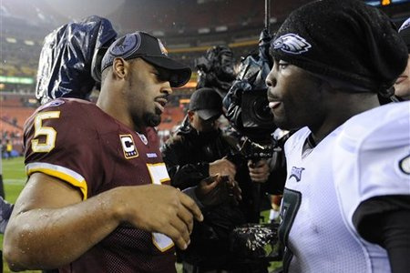 Donovan McNabb and Michael Vick