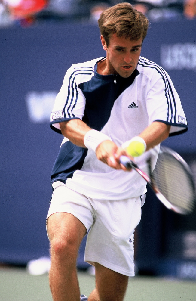 Brian Vahaly at the US open 2003
