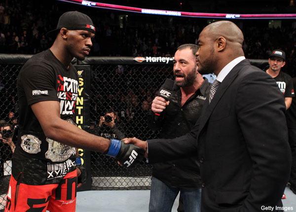 UFC 128 results: Jon Jones vs Rashad Evans staredown pic - MMAmania.